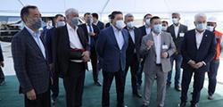 А. Мамин поручил завершить реконструкцию транспортной развязки «Алтын Орда» в октябре 2021 г.